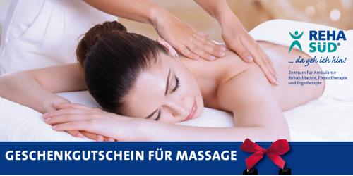 Geschenkgutschein Massage REHA SÜD
