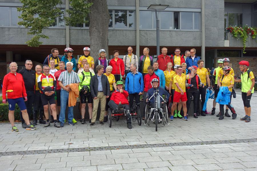 Gruppenfoto Bädertour 2017