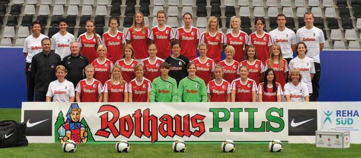 Frauen-Mannschaft des SC Freiburg