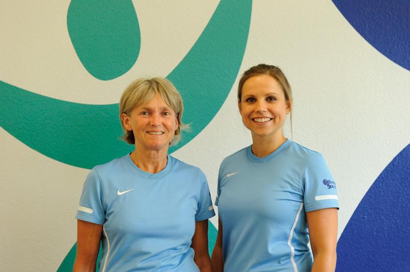 Gewinnerinnen EM-Tippsiel Sabine und Nadia