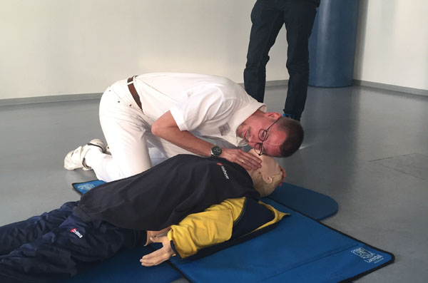 Erste Hilfe Training